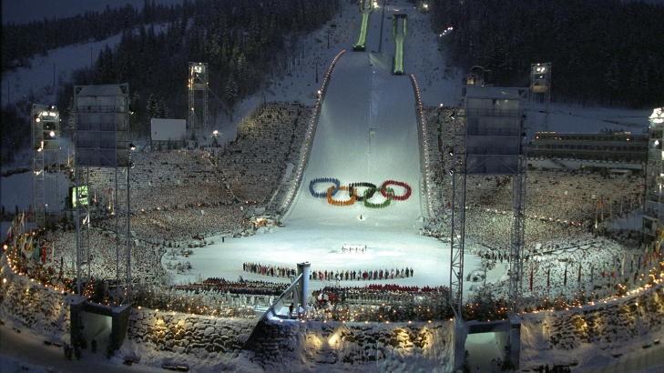 åpningsseremoni Lillehammer ol